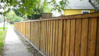 Picture Frame Privacy Fence St. Louis Park, Mn 612-281-0558