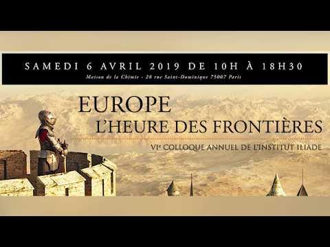 Europe, l'heure des frontière - Colloque Iliade 2019, par Jean-Yves Le Gallou sur Radio Courtoisie