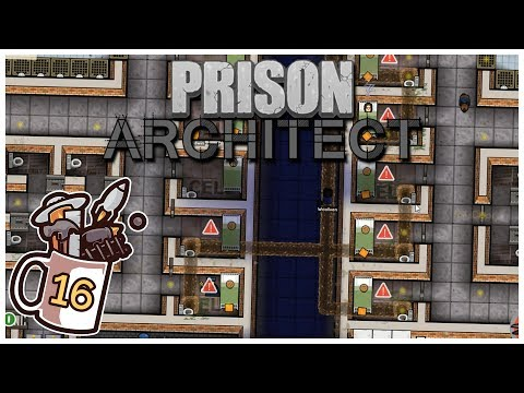 prison-architect---#16---cross-block-escape---let's-play-/-gameplay