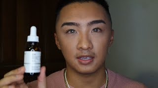 Mens Skincare Routine for Hyperpigmentation   THE ORDINARY REVIEW