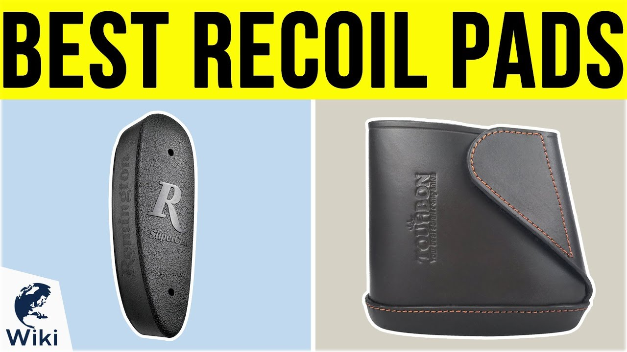 Universal Slip On Rubber Recoil Pad Black Rifle Shotgun Hunting forget Limbsaver