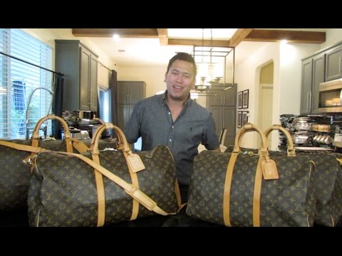 37904c6d29d5 Louis Vuitton Keepall   Bandouliere Collection - YouTube