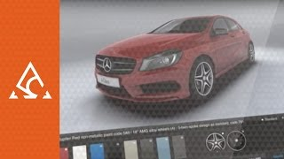 Mercedes-Benz Mobile Solutions - A-Class App from Your Favourite Story