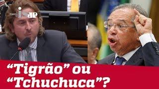 "Baixar Petista chama Paulo Guedes de ""tchutchuca"""