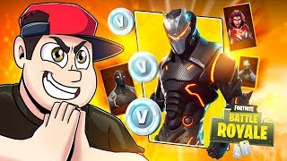 Fortnite: SEASON 4 - SKINS DE HEROIS & VILÃO ‹ AMENIC ›