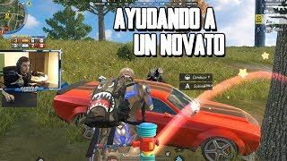 AYUDANDO A UN NOVATO A GANAR SU PRIMERA VICTORIA DE LA TEMPORADA RULES OF SURVIVAL PC thumbnail