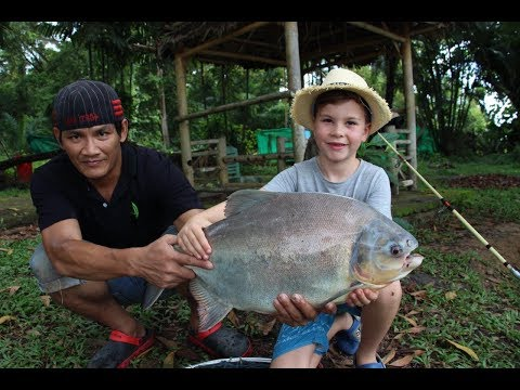Phuket fishing Park, Thailand!! Awesome fishing video with the boys!!