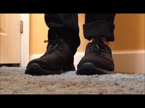 94b001e352038a Pictures of Nike Roshe Run All Black On Feet - kidskunst.info