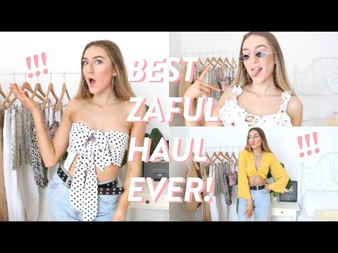b30becbd8158dd BEST ZAFUL HAUL EVER! $400 huge zaful first impressions try on haul ...
