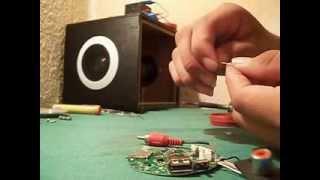tutorial como reparar bocina portátil (parte 2)