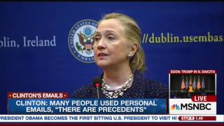 """Chris Cillizza: Hillary Clinton's Statement About The IG Report """"Is Not Born Out By The Facts"""""""