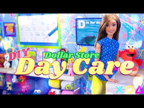DIY - How to Make: Dollar Store Day Care & Pre-School