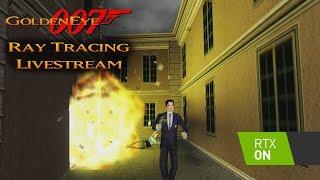 GoldenEye 007 N64 - Ray Tracing Livestream #2