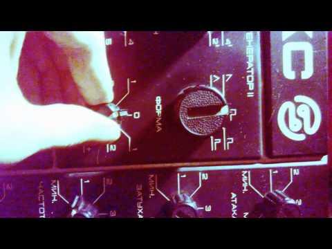 Polivoks fm demo (modified: filter fm, amp fm, ultrasound modulation possibilities, MIDI)