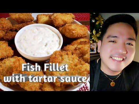 Fish Fillet With Tartar Sauce   Vin's Kitchen