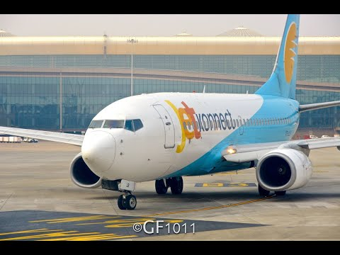 #68: JetKonnect B737-800 | Mumbai to Bangalore | S24056 | JETSCREEN REVIEW | Trip Report & Review