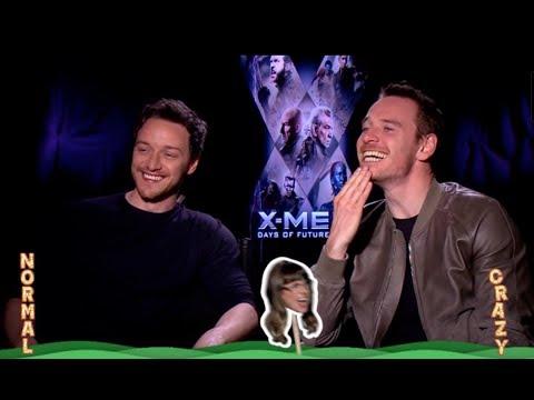 X-Men: Days of Future Past - The World's Craziest X-Men Fan Interviews the Cast!