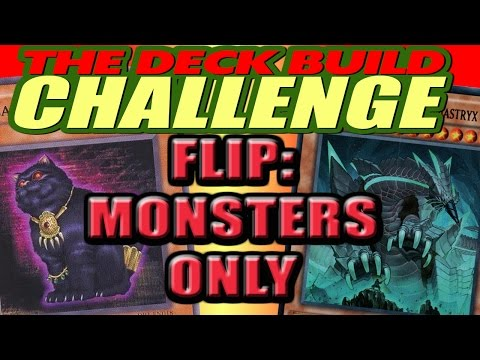 FLIP: MONSTERS ONLY - The Deck Build Challenge w/ SaltLeg Vs. Tgslogan