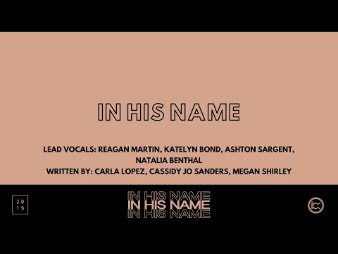 In His Name || In His Name || 2019