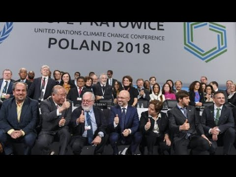 توافق دولي على تطبيق -اتفاق باريس- في ختام مؤتمر المناخ ببولندا  - نشر قبل 2 ساعة