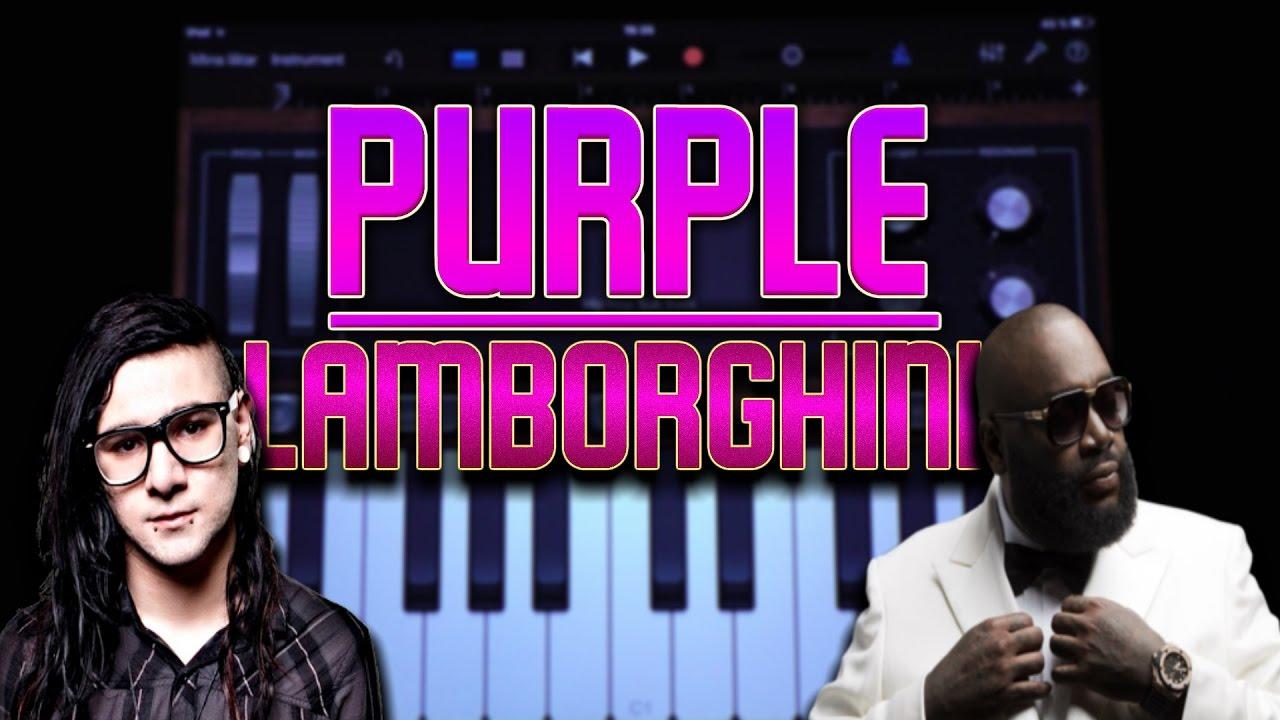 Skrillex Rick Ross Purple Lamborghini Garageband Tutorial