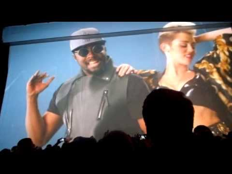 Will.i.am - Feelin Myself video & scream and shout Live #Willpowertour Amsterdam