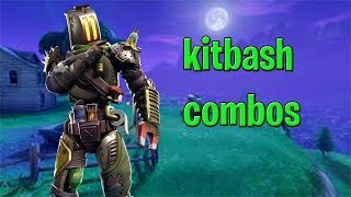 Fortnite Kitbash skin combos