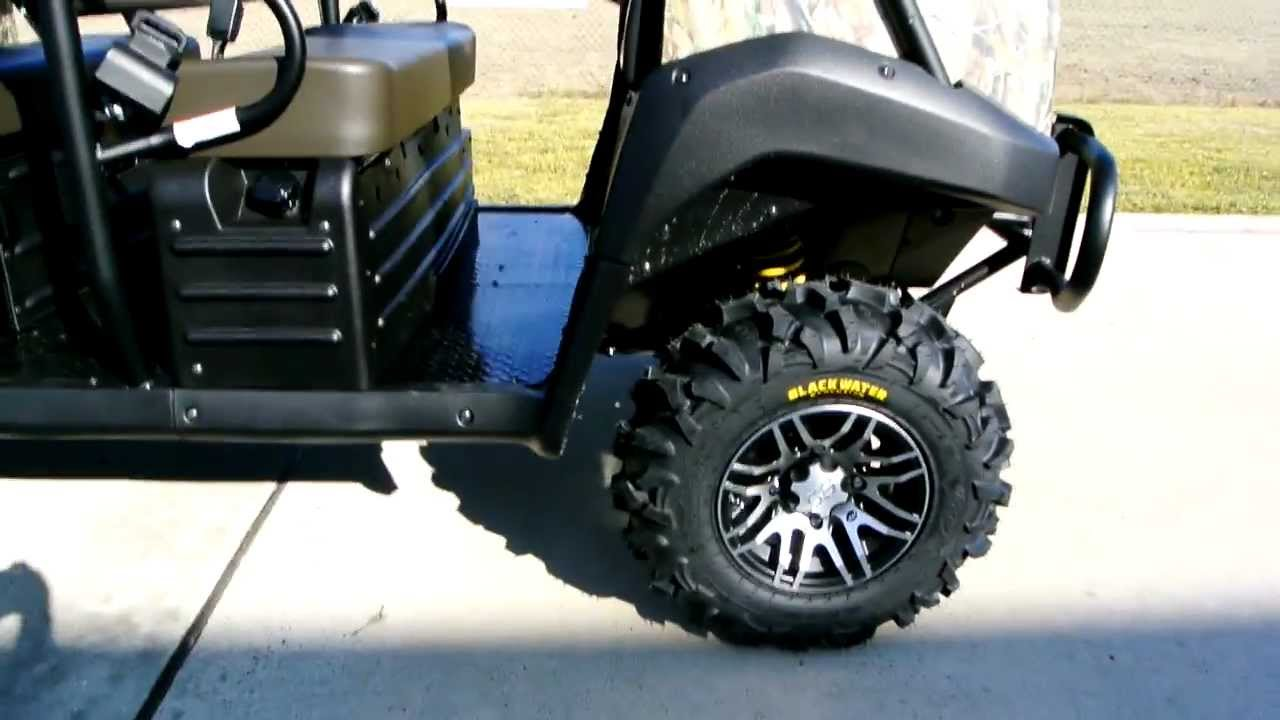 Kawasaki Mule Trans Camo With Lift Kit Itp