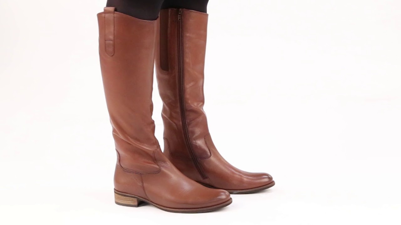 a795f7bb246 Gabor Brook M Caramello Womens Long Boots
