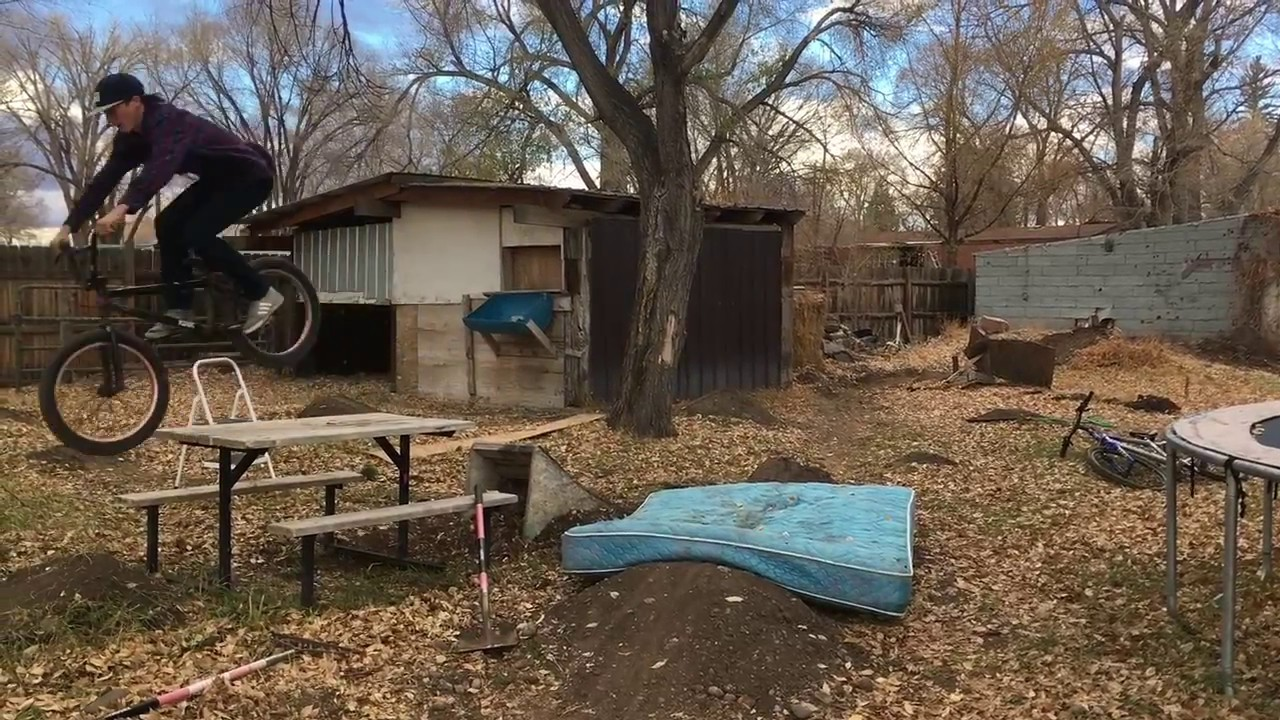 100 backyard bmx dirt course builder dave king at red bull