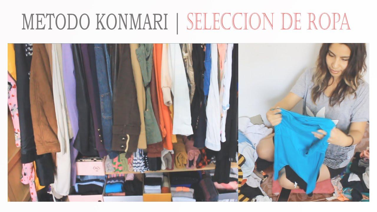 Konmari metodo como seleccionar la ropa 2 suemylucio - Metodo konmari ropa ...
