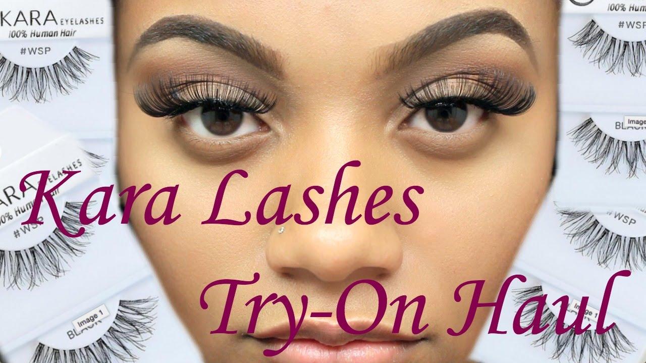 e5331d38b72 $1 Dollar Lashes?! | TRY-ON HAUL | Shopmissa.com - YouTube