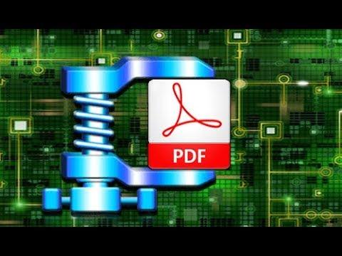 Как максимально уменьшить размер файла pdf