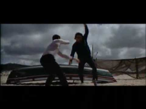 On Her Majesty's Secret Service - Beach fight