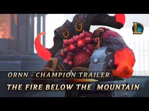 Thumbnail: Ornn, the Fire Below the Mountain | Champion Trailer - League of Legends