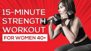 15-Minute Strength Workout for Women