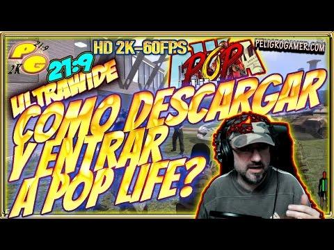 Como Descargar y Entrar a POP LIFE? Tutorial Español 2K 21:9