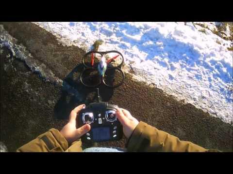 A Classic quad: WLTOYS UFO CYCLONE V262 Flight review and modifications