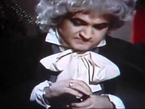 JOHN BELUSHI'S SCHIZO PERSONALITY AS BEETHOVEN AND RAY CHARLES