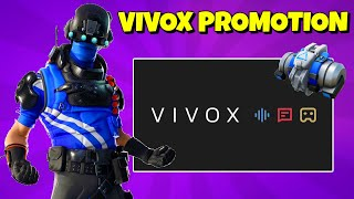 NEW VIVOX EXCLUSIVE SKIN Promotion in Fortnite