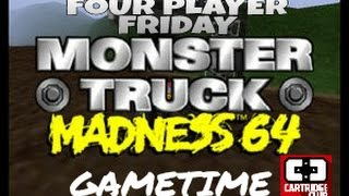 4 Player Friday: Monster Truck Madness 64