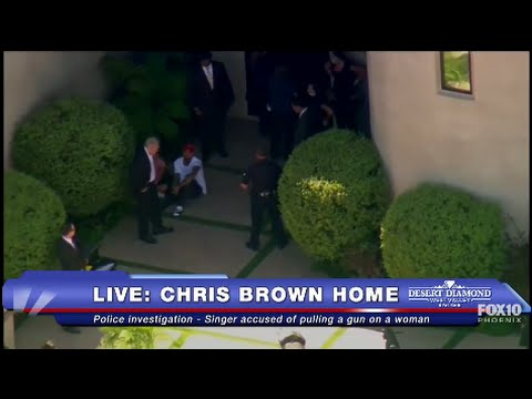 FULL COVERAGE: Police ARREST Chris Brown - Allegedly Threatened Woman With Gun