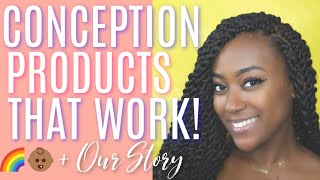 🌈 👶🏾 2 Products That Helped Us Conceive After 14YRS On The Pill & A MC + Our Journey2 Conception