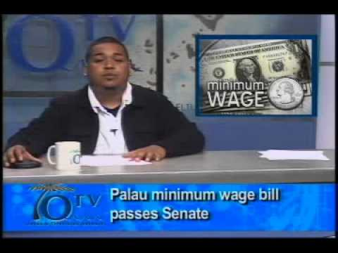 Palau Senate Passes The Minimum Wage Hike Bill -  VIDEO