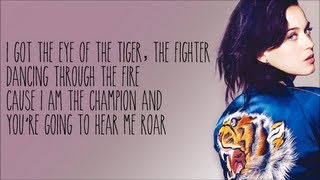 Katy Perry - Roar [Karaoke/Instrumental] with lyrics