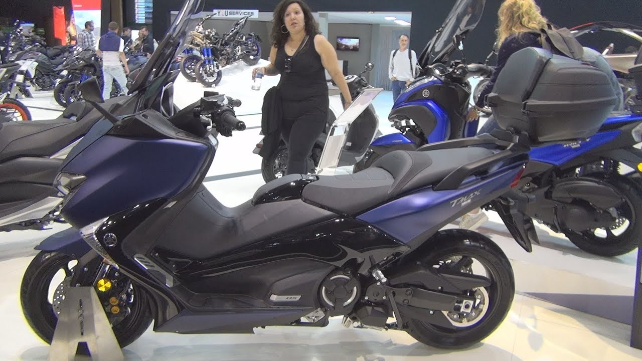 yamaha tmax dx 2019 exterior and interior youtube. Black Bedroom Furniture Sets. Home Design Ideas