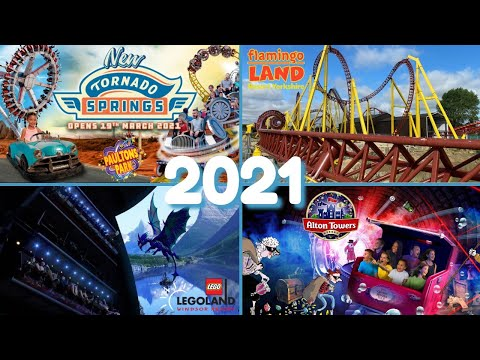 NEW RIDES Opening In 2021 At Theme Parks In The United Kingdom