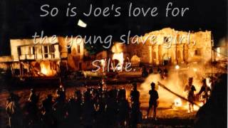 "SLAVE JOE OF THE ALAMO, book trailer for ""One Domingo Morning"""