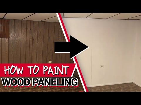 How To Paint Wood Paneling Ace