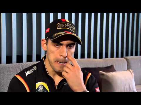 Formula One Australian Grand Prix: Pastor Maldonado e Romain Grosjean [Team Lotus]
